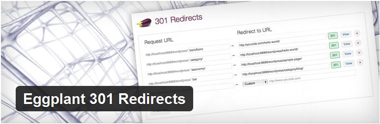 301 redirect WordPress